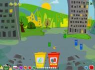 Gry edukacyjne dla dzieci: Porządki to zabawa, w czasie której uczymy się o segregowaniu odpadów, rozwój pamięci i koncentracji oraz nauka angielskiego