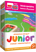 Programy edukacyjne JUNIOR to udane prezenty dla dzieci w wieku 5-9 lat. Relaks i rozwój umysłu, szybkie zapamiętywanie i dobra koncentracja uwagi