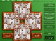 Przykład planszy Sudoku z łamigłówkami zapewniającymi efektywne ćwiczenie pamięci i koncentracji. To wymarzony prezent dla dziecka