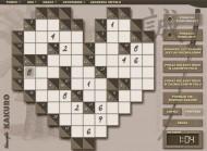 Gry logiczne Kakuro – przykładowa plansza z menu. To zabawa i ćwiczenia koncentracji i pamięci, udany prezent dla dziecka