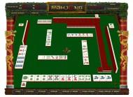Przykład planszy gry dla dzieci Mahjong, która rozwija przenikliwe myślenie, refleks i spostrzegawczość. To super prezent dla dziecka